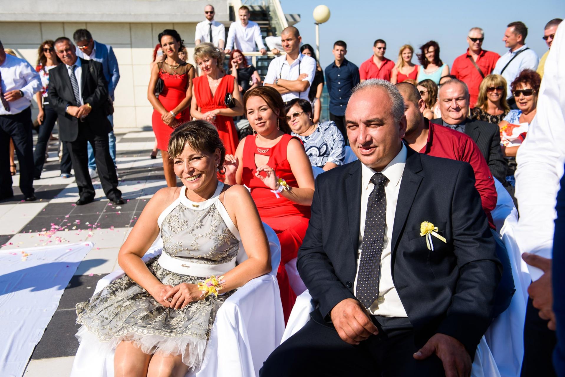 сватба на морето Петя  и Кирил